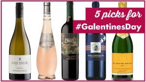 5 wine picks for galentines day