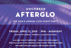 Denver Art Museum Uncorked AFTERGLO 2019