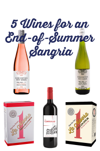5 Wines for Sangria